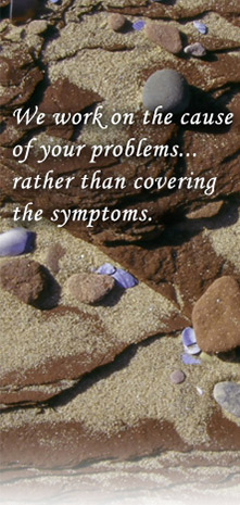 We work on the cause of your problems... rather than covering the symptoms.
